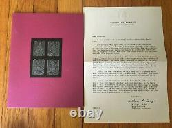 Franklin Mint New American Bible with Sterling Silver Cover Family Bible