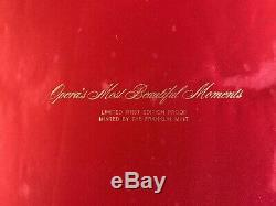 Franklin Mint Opera's Most Beautiful Moments 60 Sterling Silver Coins in Album