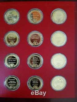 Franklin Mint Opera's Most Beautiful Moments 66.6 Troy Oz Silver, 59 Coins