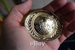 Franklin Mint Paramount Star Trek Insignia Badge Job Lot Sterling Silver 925