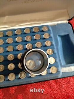 Franklin Mint Presidential Mini Coin Set Sterling Silver