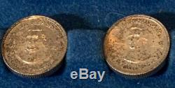 Franklin Mint Presidential Mini Coin Set Sterling Silver Complete Kit Vintage