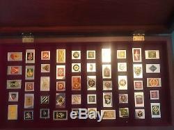 Franklin Mint Regimental Emblems Sterling Silver Ingots