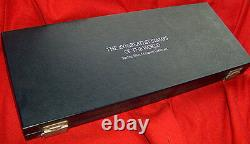 Franklin Mint Silver 100 Greatest Stamps of the World Complete Vintage 1981 COA