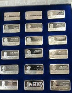 Franklin Mint Silver Bars 36, 1000 Grain SIlver Bars. Great Value