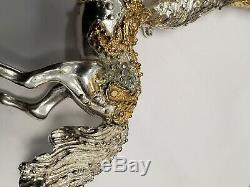 Franklin Mint Silver Circus By Sascha Brastoff Horse And Clown Sterling Silver