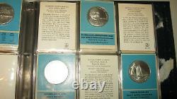 Franklin Mint Special Commem Issues of 1970 1st Edition Proofs Sterling Silver