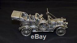 Franklin Mint Sterling Silver Car Miniature 143 Scale RARE
