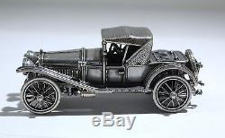 Franklin Mint Sterling Silver Car Model of 1930s Cabriolet