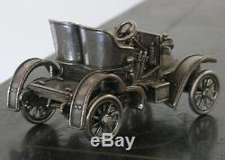 Franklin Mint Sterling Silver Miniature Car Vauxhall
