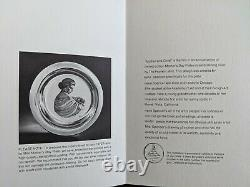 Franklin Mint Sterling Silver Mother's Day Plate #17811 1972 LIMITED EDITION