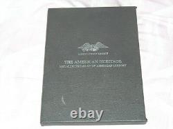 Franklin Mint Sterling Treasury of American History,'The American Heritage
