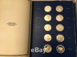 Franklin Mint The Fifty-State Bicentennial Medal Collection (Sterling Silver)