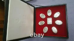 Franklin Mint The Guard Regiment Sterling Silver Box Collection Superb GIFT DAD