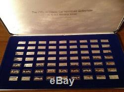 Franklin Mint The Official Classic Car Miniature Collection Sterling Silver