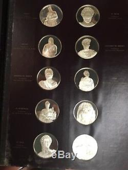 Frescoes Sistine Chapel Michelangelo 60 Sterling Silver Proof Coin MS