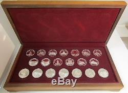 GREAT AMERICAN LANDMARK SERIES. 925 STERLING SILVER FRANKLIN MINT WithFREE SHP