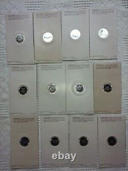 Great American Indian Chiefs Medal Sterling Silver Coins Franklin Mint
