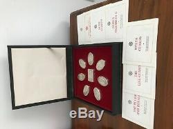Guards Regiments Silver Box Collection Franklin Mint