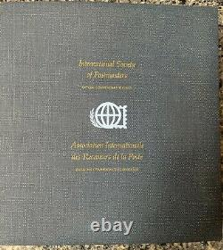 International Society of Postmasters (1975-77) Sterling Silver First Day Covers