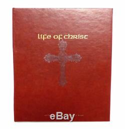 Life of Christ 25 Sterling Silver Medal Set with Book by Giani Benvenuti