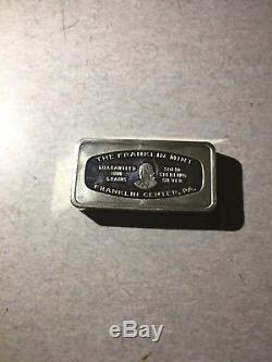 Lot of 16 Franklin Mint 1000 Grain Solid Sterling Silver Bars