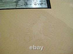 Pair of Jamie Wyeth Etchings on Sterling Silver for Franklin Mint