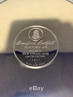 Silber Teller 925 Mit Motiv 780g Franklin Mint Original Solid Sterling Silver. 09