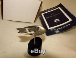 Star Trek Franklin Mint Ferengi Marauder Solid Sterling Silver Starship RARE