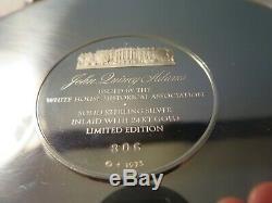 Sterling Silver. 925 1973 John Quincy Adams US President Solid 197.3 grams #'d