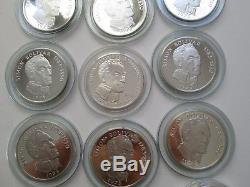 Sterling Silver Balboa coin FRANKLIN MINT coins medal bullion medals Panama