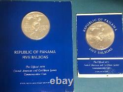 Sterling Silver Bullion Coins Proof Sets. 925 33.3 oz PURE = $1000 MELT VALUE