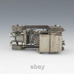 Sterling Silver Car Miniature, 1903 Fiat