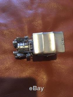 Sterling Silver Car Miniatures Collectable The Franklin Mint 6.2 Ounces Vintage