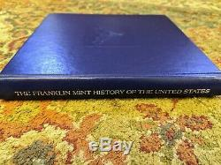 Sterling Silver Franklin Mint History of The U. S. Complete coin collection