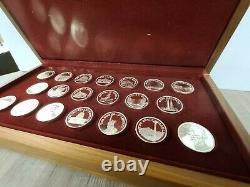 Sterling Silver Great American Landmarks Coin Set Collection 20 oz