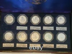 Sterling Silver Proof International Fraternal Commemorative Society 20 coins