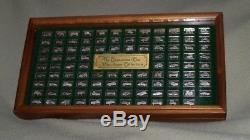 The Centennial Car Mini-Car Sterling Silver Ingot Collection by Franklin Mint