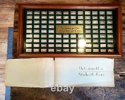 The Centennial Car Mini-Ingot Collection Franklin Mint with Box and book