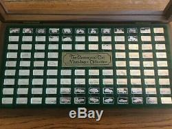 The Centennial Car Mini-Ingot Collection by Franklin Mint