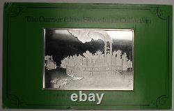 The Currier & Ives Proof Silver Ingot (over 2.5oz). 999 Fine Silver Wooding Up