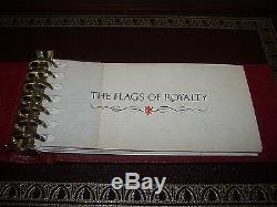 The Flags of Royalty Ingots Collection Franklin Mint 1977 Sterling Silver 50oz