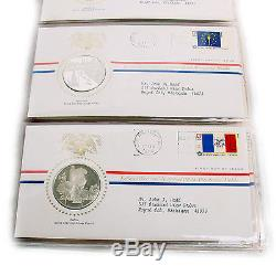 The Franklin Mint Sterling Silver Bicentennial Medals Proof