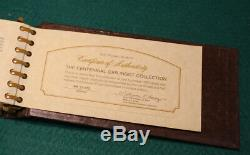 The Franklin Mint Sterling Silver Centennial Car Ingot Collection
