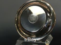 The Franklin Mint Sterling Silver Plate -university Of Virginia Alumni Plate
