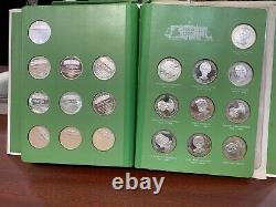 The Franklin Mint-The First Ladies of the United States Sterling Silver Medals