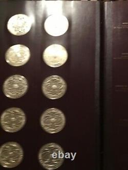 The Franklin Mint The Genius Of Michael Angelo Sterling Silver 60 Coin Set
