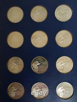 The Franklin Mint Treasury of Presidential Commemorative Sterling Silver Medals