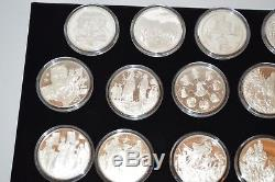 The Medallic History of The American Indian Franklin Mint Sterling Silver Coins