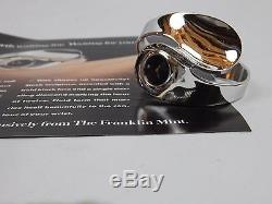 The Sensuous Shape of Time Franklin Mint Ladies Cuff Watch Rare Unique
